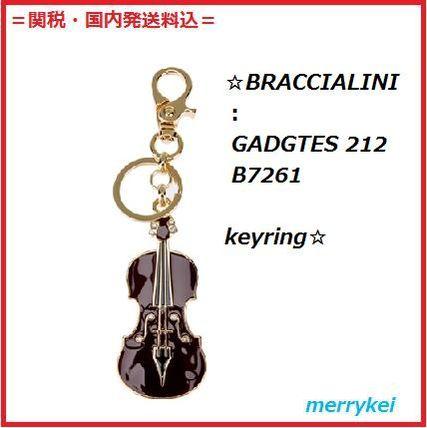BRACCIALINI:ヴァイオリンkeyring BRACCIALINI (ブラッチャリーニ ) バイマ BUYMA