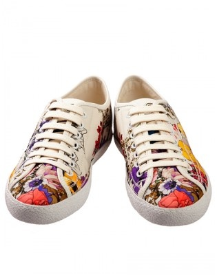 MONCLER ST.LUCIA FLOWER PRINT TRAINERS FOR WOMEN MONCLER(モンクレール) バイマ BUYMA