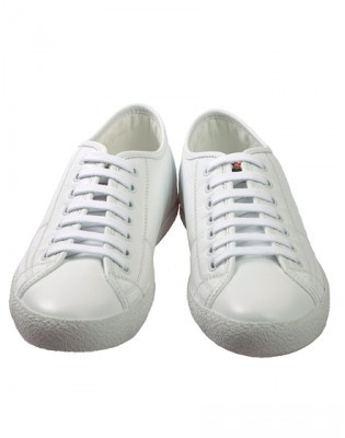 MONCLER ST.LUCIA ALL WHITE TRAINERS LADIES スニーカー MONCLER(モンクレール) バイマ BUYMA