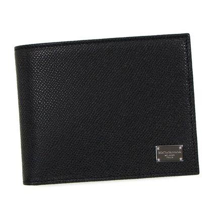 ドルチェアンドガッバーナ BP0457 A1001 二つ折り財布 ブラック Dolce Gabbana(ドルチェ ガッバーナ) バイマ BUYMA