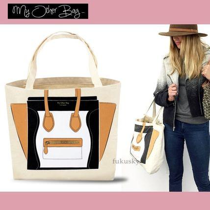 大人気★送料込【My Other Bag】キュートなエコトートMadison/BK My Other Bag(マイアザーバッグ) バイマ BUYMA