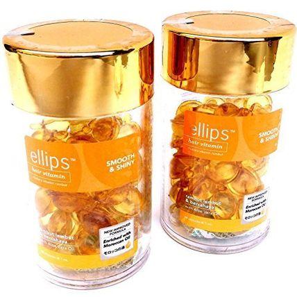 エリプス ヘアビタミン イエロー ボトル(50カプセル)× 2個 ellips(エリプス) バイマ BUYMA