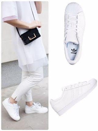 大人着用可 大人気☆有名人愛用モデル【Superstar】 スニーカー adidas(アディダス) バイマ BUYMA