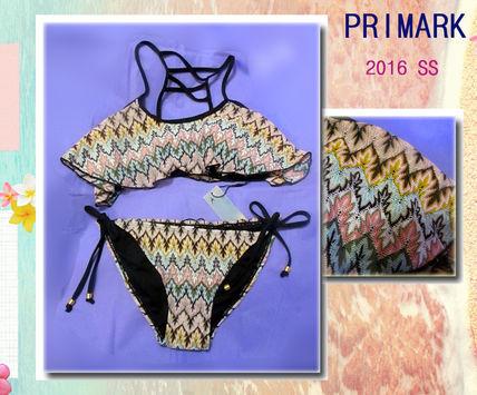上下size選べる Primark 2016新作 エスニックフレアビキニ Primark(プライマーク) バイマ BUYMA