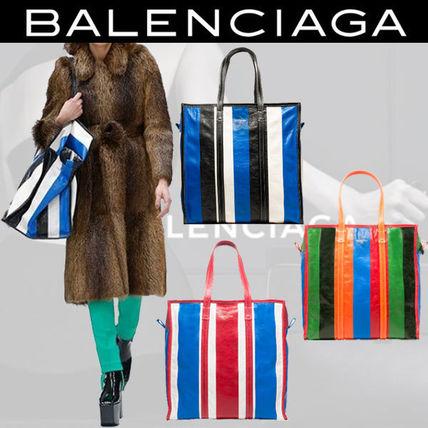 話題の カラフルで素敵 BALENCIAGAバザール ショッパー Mサイズ BALENCIAGA(バレンシアガ) バイマ BUYMA