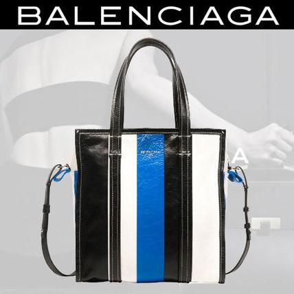 話題の カラフルで素敵 BALENCIAGAバザール ショッパー Sサイズ BALENCIAGA(バレンシアガ) バイマ BUYMA