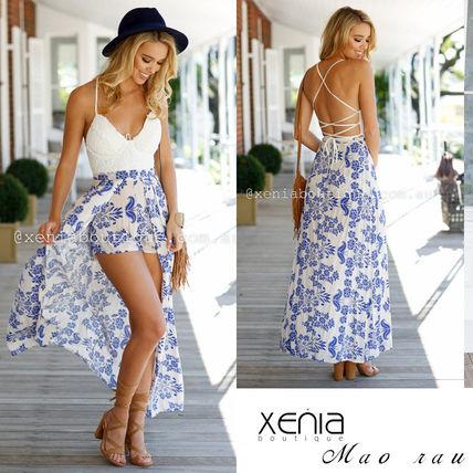 【送料関税込】キセニア(XENIA boutique)La Conchaマキシワンピ XENIA boutique(キセニアブティック) バイマ BUYMA