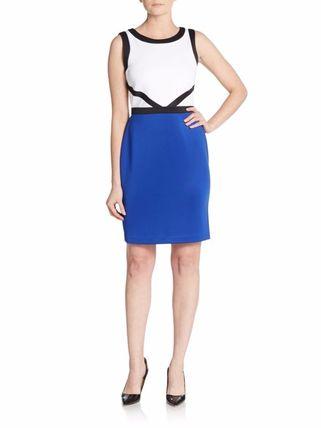 ★Calvin Klein(カルバンクライン)☆マルチカラー柄ドレス Calvin Klein(カルバンクライン) バイマ BUYMA