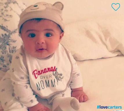 Carter's baby 長袖ロンパース、帽子、スタイ、靴下セット carter's(カーターズ) バイマ BUYMA