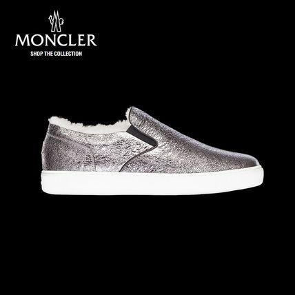 【新作♪】 MONCLER-モンクレール ROSELINEスニーカー/グレー スニーカー MONCLER(モンクレール) バイマ BUYMA