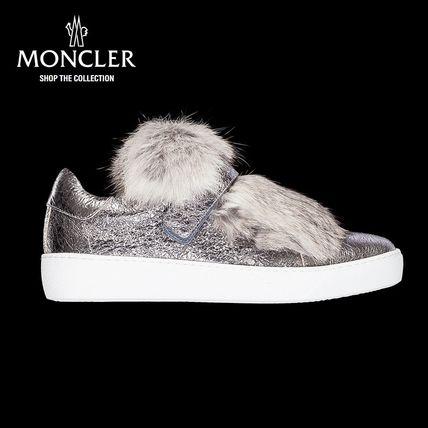 【新作♪】 MONCLER-モンクレール LUCIEスニーカー/グレー スニーカー MONCLER(モンクレール) バイマ BUYMA