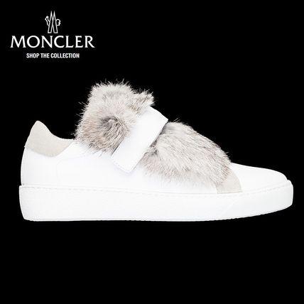 【新作♪】 MONCLER-モンクレール LUCIEスニーカー/ホワイト スニーカー MONCLER(モンクレール) バイマ BUYMA