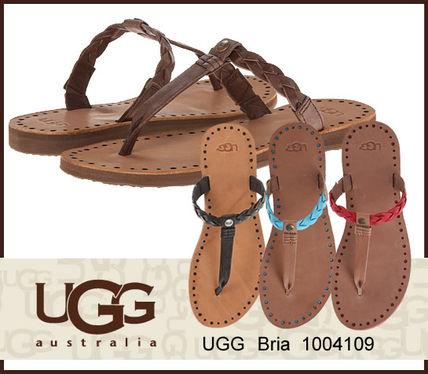 即日発送 UGG アグ W BRIA フラットサンダル ビーチサンダル UGG Australia(アグ オーストラリア) バイマ BUYMA