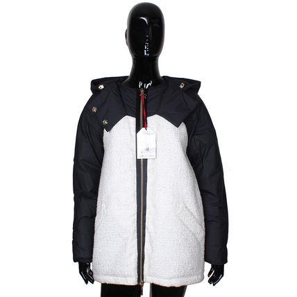 MONCLER モンクレール SABINE ダウンジャケット BLACK×WHITE MONCLER(モンクレール) バイマ BUYMA